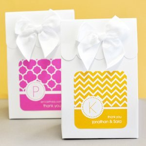 Sweet Shoppe Candy Boxes - MOD Pattern Monogram (Set of 12) image