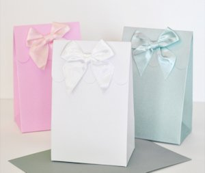 DIY Blank Candy Favor Boxes (Set of 12 - 10 Colors) image