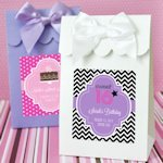 Sweet 16 or 15 Personalized Candy Shoppe Favor Boxes
