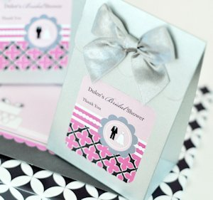 Personalized Candy Boxes - Wedding Shower (Set of 12) image