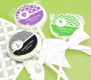 MOD Pattern Theme Lollipop Favors image