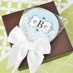 Mod Monogram Lollipop Favors