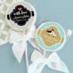 Something Sweet Personalized Wedding Favor Lollipops