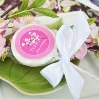 Cherry Blossom Personalized Lollipop Favors