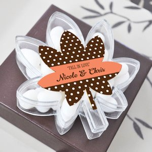 Fall for Love Leaf Favor Boxes image