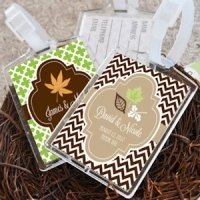 Fall For Love Personalized Luggage Tag Favors
