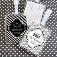 Personalized Graduation Luggage Tags