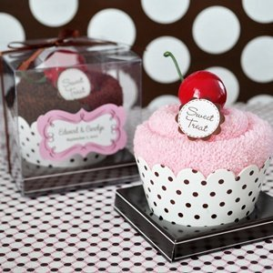 Sweet Treat Towel Cupcake Favors image