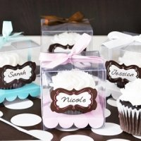 Cupcake Themed Favors