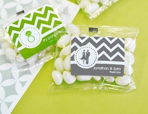 Jelly Bean Candy Wedding Favors - MOD Pattern image