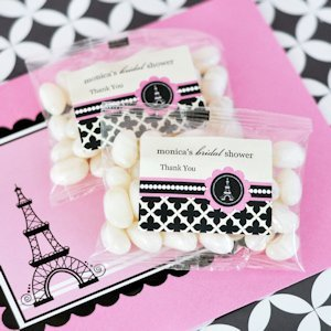 Personalized Jelly Beans - Parisian Party image