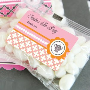 Jelly Bean Personalized Bridal Shower Tea Party Favors image