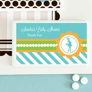Going to Pop - Blue Personalized Mini Mint Favors image