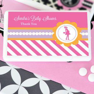 Going to Pop - Pink Personalized Mini Mint Favors image