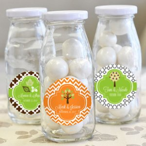 'Fall for Love' Personalized Milk Bottles image