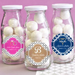 Theme Personalized Milk Bottles image