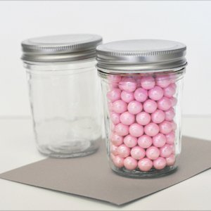 DIY Blank Mini Mason Jars image