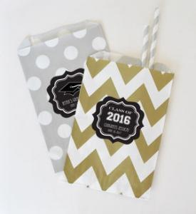 Personalized Graduation Goodie Bags (set of 12) image