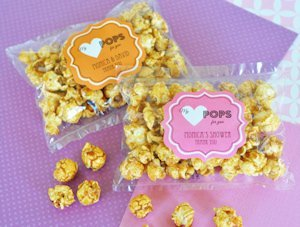 'My Heart POPS for You' Edible Caramel Popcorn Favors image