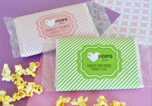 'My Heart POPS for You' Microwave Popcorn Wedding Favors image