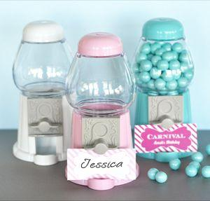 Mini Gumball Machine Place Card Holders image