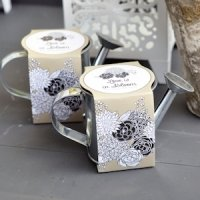 Mini Watering Can Planting Kit Wedding Favors