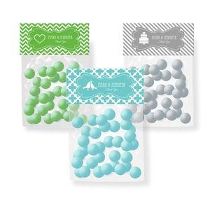 MOD Pattern Theme Candy Bag Toppers image