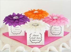 Flower Favor Boxes (set of 12) image