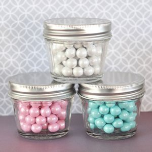 DIY Blank Mini Mason Jars - 4 oz. image