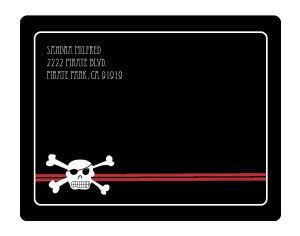 Pirate Party Return Address Labels image