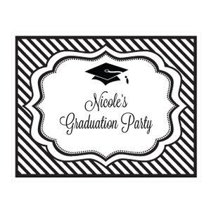 Personalized Graduation Party Sign image