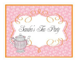 Tea Party Sign image