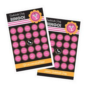 Bachelorette Party Bingo (set of 16) image