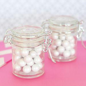 DIY Blank Glass Jar with Swing Top Lid - MINI image