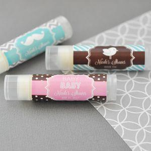 Personalized MOD Baby Silhouette Lip Balm Tubes image