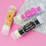 Personalized Birthday Lip Balm Favors