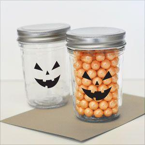 Spooky Face Halloween Stickers (Set of 20) image