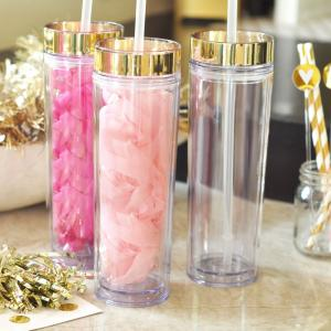 Blank Clear Tall Tumblers image
