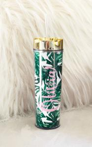 Palm Leaf Tall Tumbler image