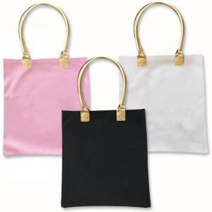 Blank Canvas Tote Bags w/Gold Handles image