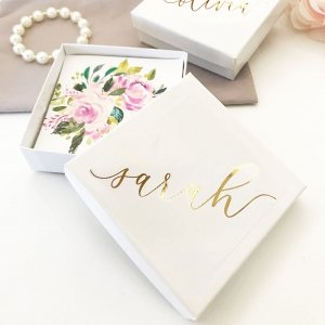 Personalized Jewelry Gift Boxes image