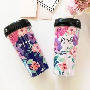 Floral Coffee Tumblers image