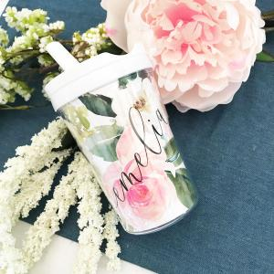 Floral Sippy Cups image