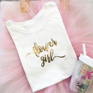 Flower Girl T-shirt image