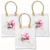 Watercolor Bridal Party Tote Bag