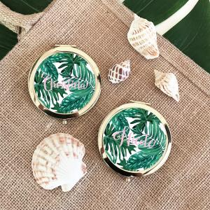 Personalized Palm Leaf Compacts image