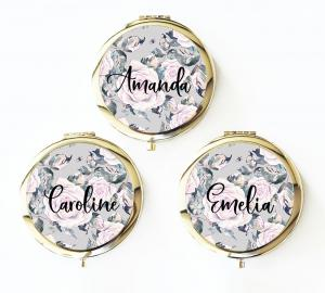 Personalized Rose Garden Compacts image