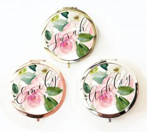 Personalized Spring Rose Compacts image