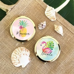 Tropical Beach Personalized Compacts image