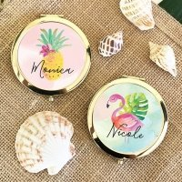 Tropical Beach Personalized Compacts